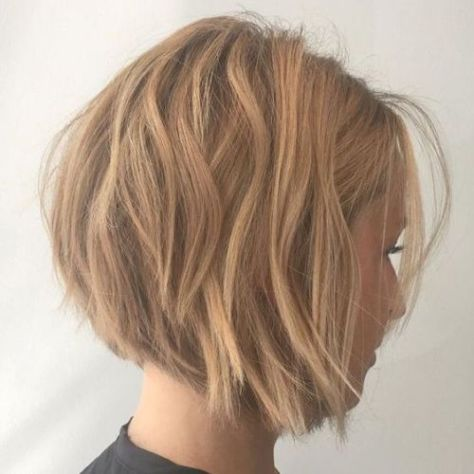 Chin Length Blonde Bob