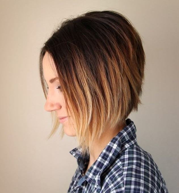 Graduated Straight Ombre Bob