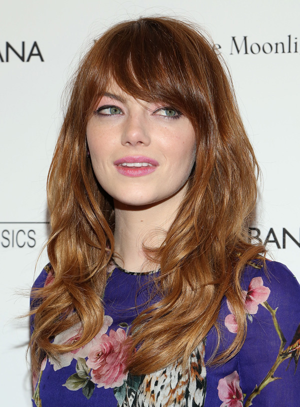 Mid Length Hair with Fringe