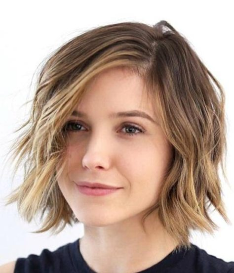 Sophia Bush Choppy Bob