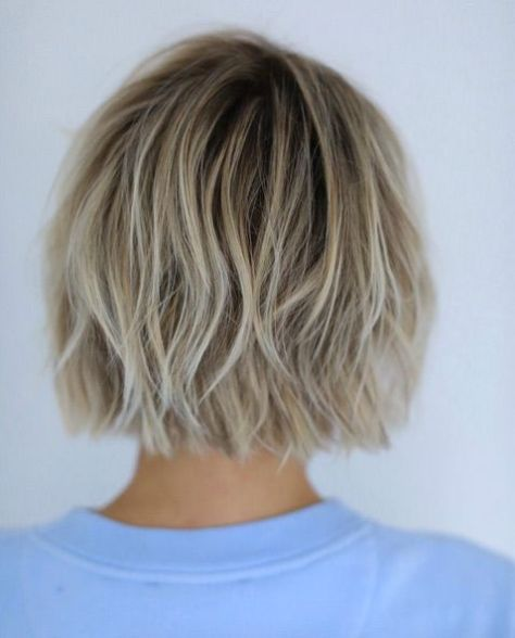 Straight Bob with Layers