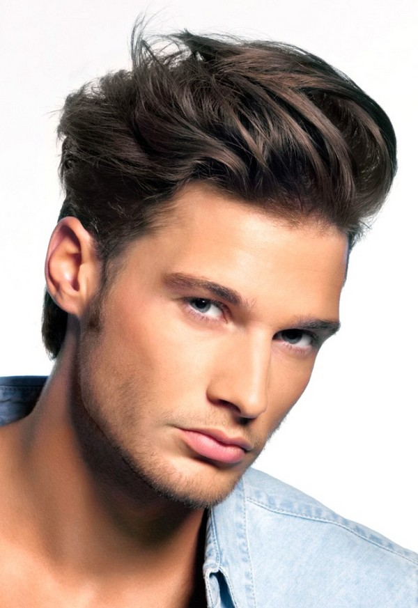 Wavy Comb Over Hair