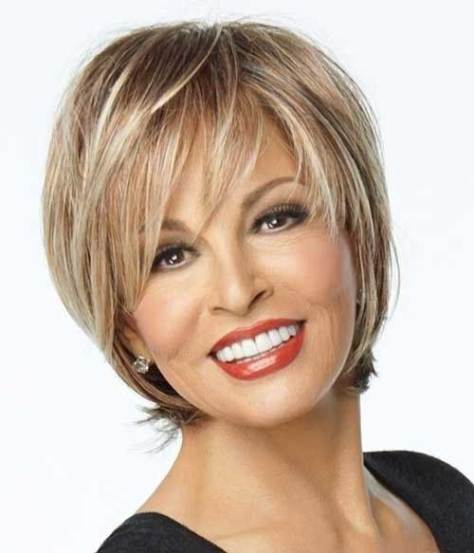 Short Blonde Layered Hairstyle