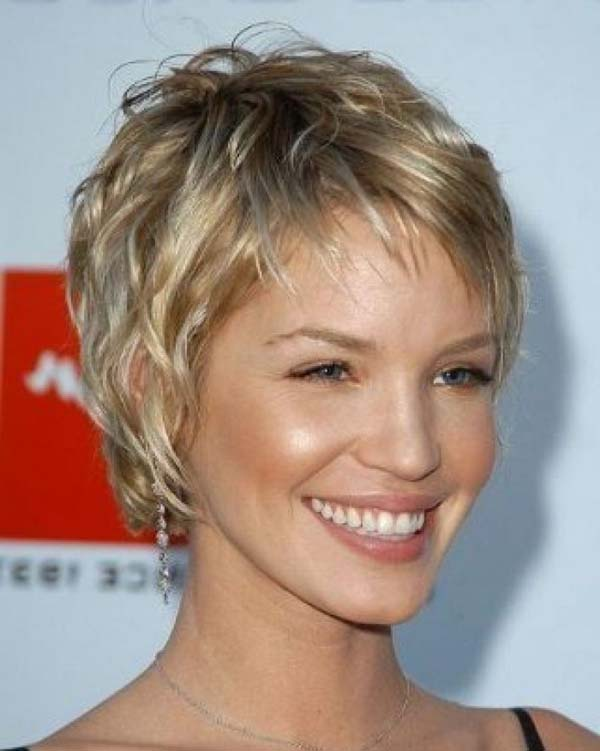 Messy Layered Short Hair
