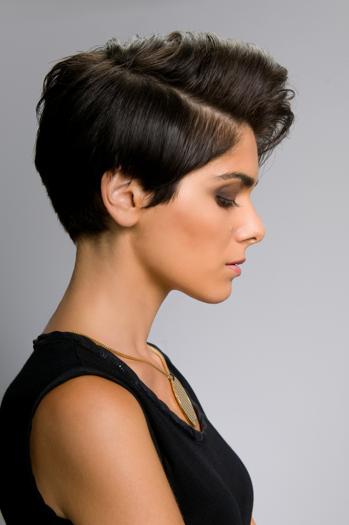 Edgy Short Haircut for Thick Hair