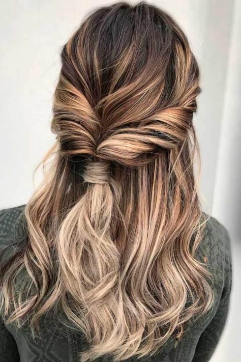 Dark to Light Ombre Long Hair