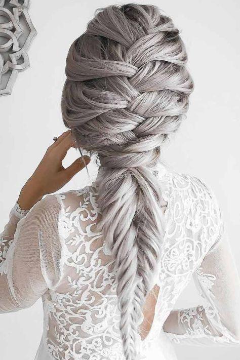 Platinum Blonde Ponytail