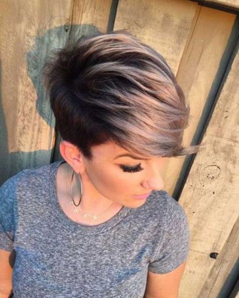 Trendy Color for Short Hair