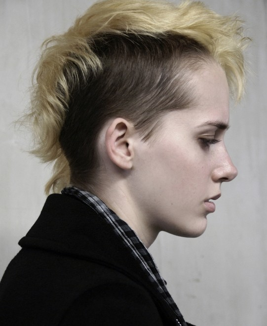 Undercut Faux Hawk Hair
