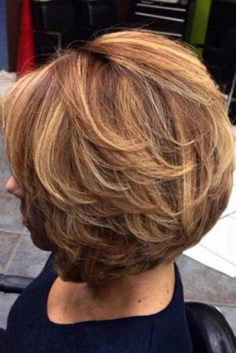 Tapered Short Hair with Layers