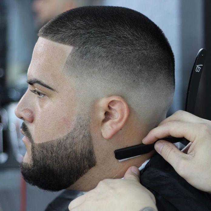 Buzz Fade Haircut for Men