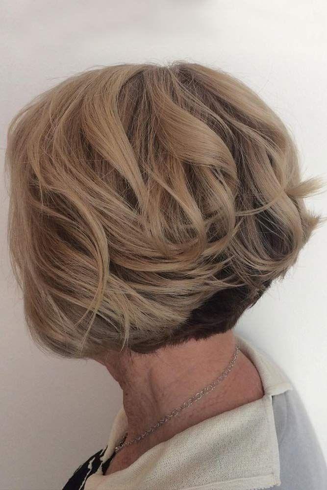 Layered Blonde Bob Haircut