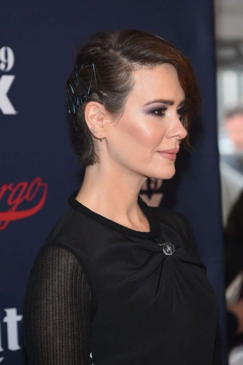 Side Swept Short Hair Updo with Bobby Pins