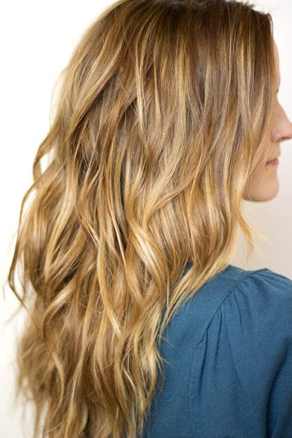 Beach Wavy Long Blonde Hair