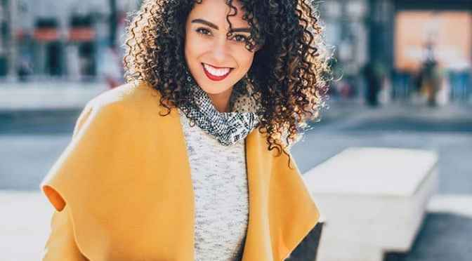 Balayage Highlights Curly Hair