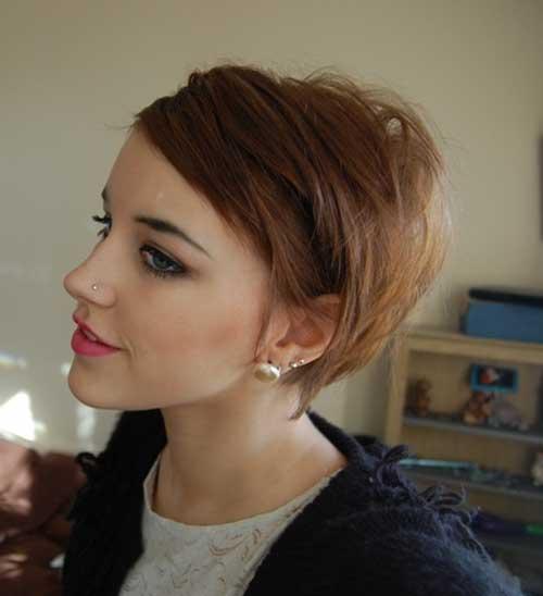 Short Straight Pixie Haircut