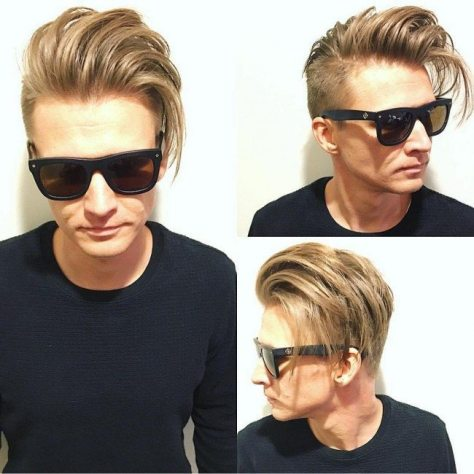 Undercut with Long Messy Top