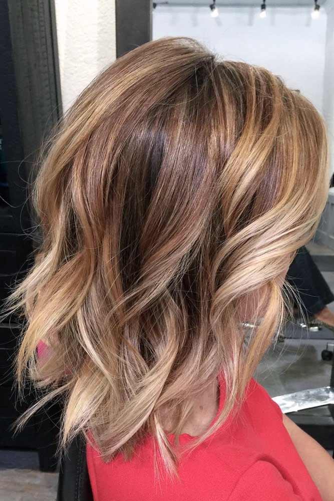 Beach Wavy Lob Haircut