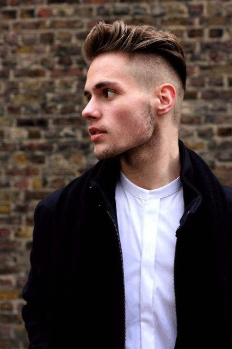 Edgy Undercut Hairstyle for Men