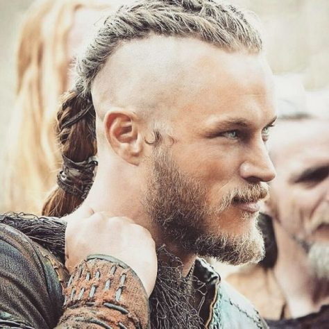 Viking Inspired Ponytail