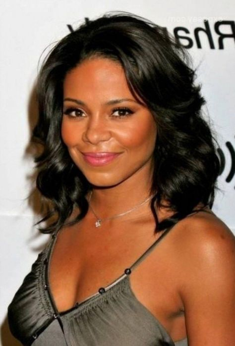Black Hairstyle for Medium Length Hair