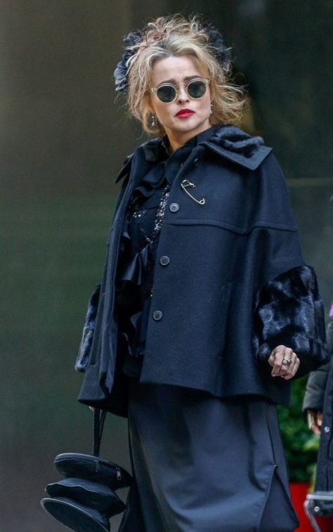 Helena Bonham Carter's Messy Blonde Hair