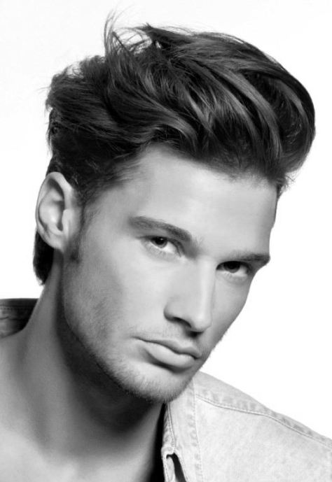 Men's Messy Haircut for Thick Hair