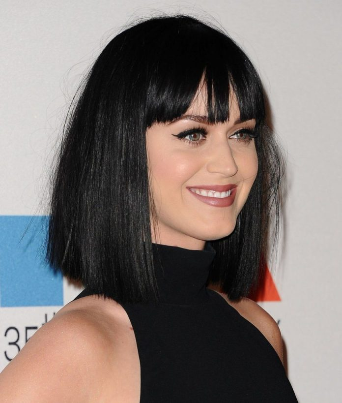 Straight Bob with Blunt Cut Fringe