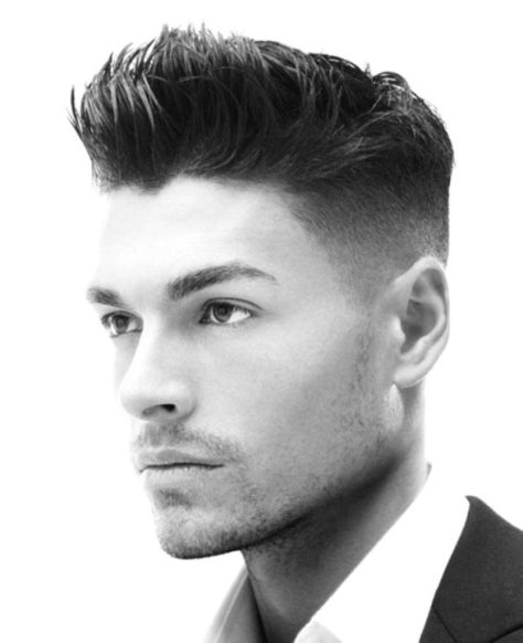 Men's High Fade Hairstyle