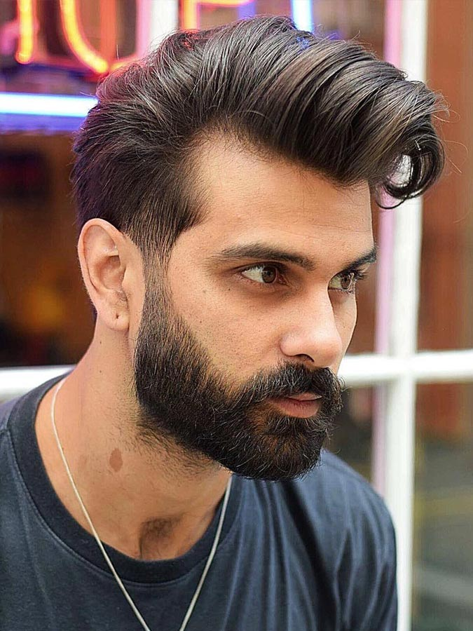 Men's Hairstyles With Beards