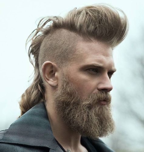 Long Hair Mohawk
