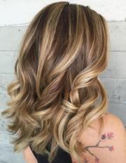 blonde highlights women