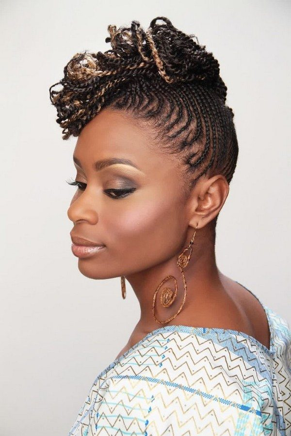 Cornrow Hairstyle