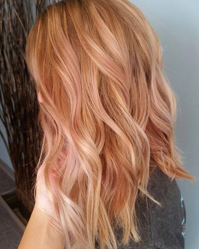 Strawberry Blonde Highlights