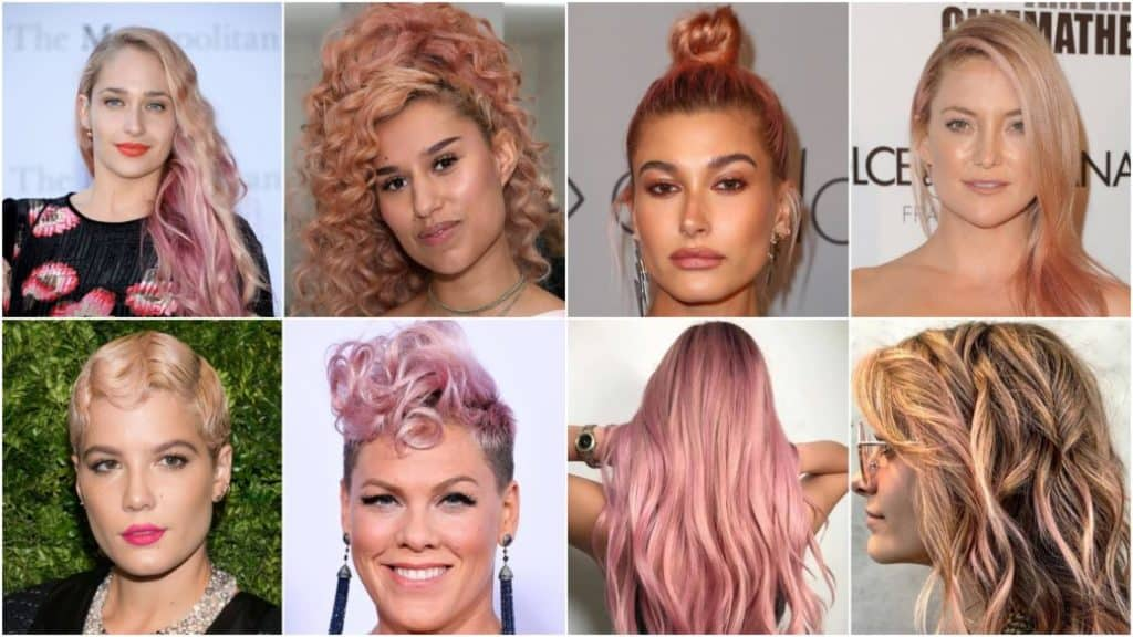 20 Rose Gold Hair Color Ideas For Women Haircuts Hairstyles 2018