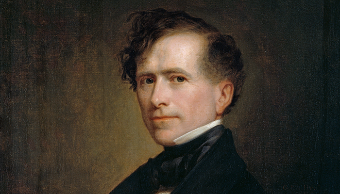 Franklin Pierce, the hottest president of the United States