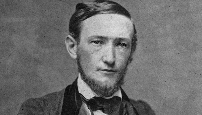 Young Benjamin Harrison