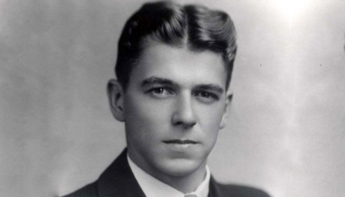 Young Ronald Reagan