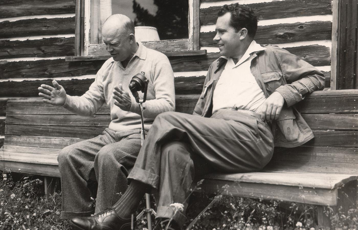 Eisenhower + Nixon = BFF