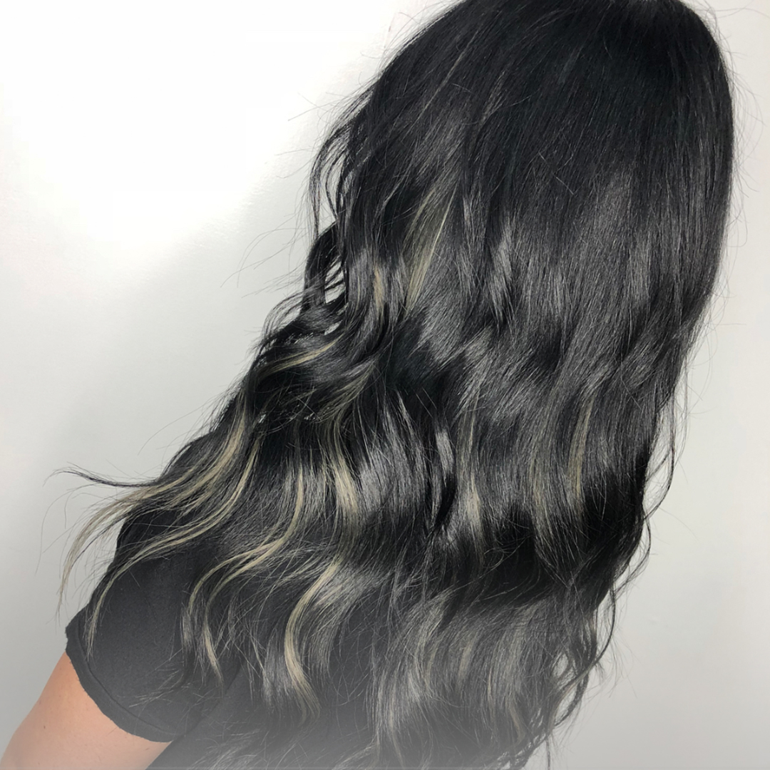 Clip-In Hair Extensions Las Vegas Model