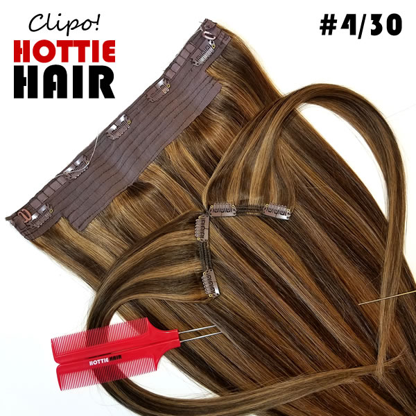 Clipo-Hair-Extensions-Front-Heart-Zoom-04-30-halo-clip-in