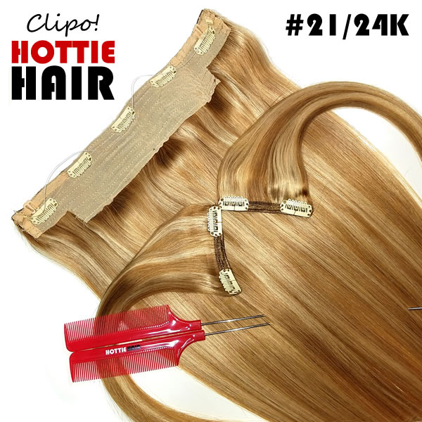 Clipo-Hair-Extensions-Front-Heart-Zoom-21-24K-halo-clip-in