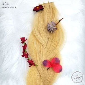 Virgin-Tape-In-Hair-Extensions-Light-Blonde-24-Braid-Flowers.fw