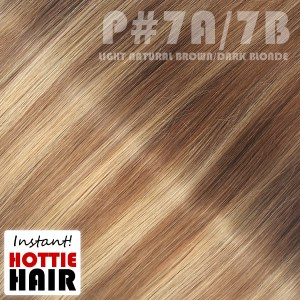 Halo-Hair-Extensions-Swatch-Light-Natural-Brown-Dark-Blonde-Mix-P-07A-07B