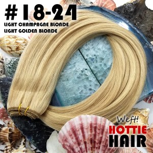 Weft-Hair-Extensions-Light-Champagne-Blonde-Light-Golden-Blonde-Rock-Top-18-24.fw