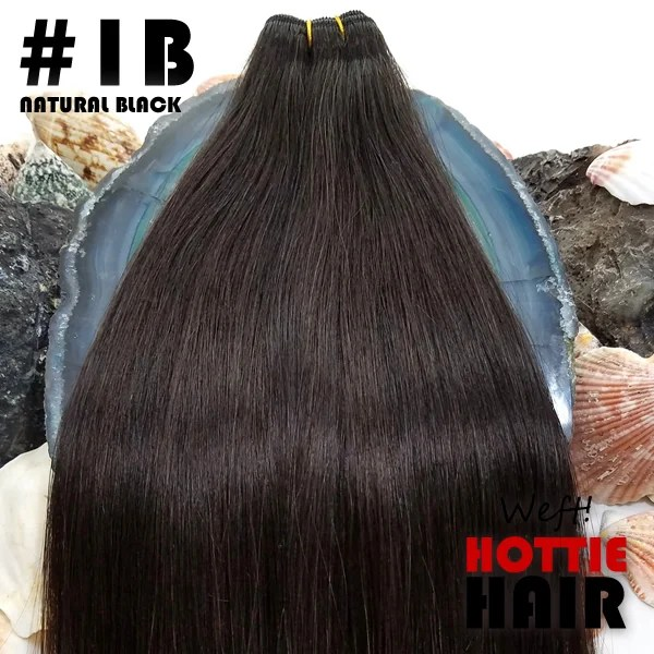 sew in hair bundle natural black