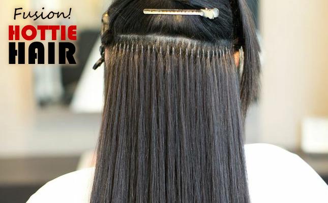 Fusion Hair Extensions Las Vegas Demo