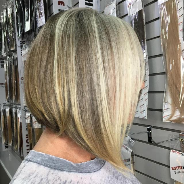 partial highlights salon las vegas
