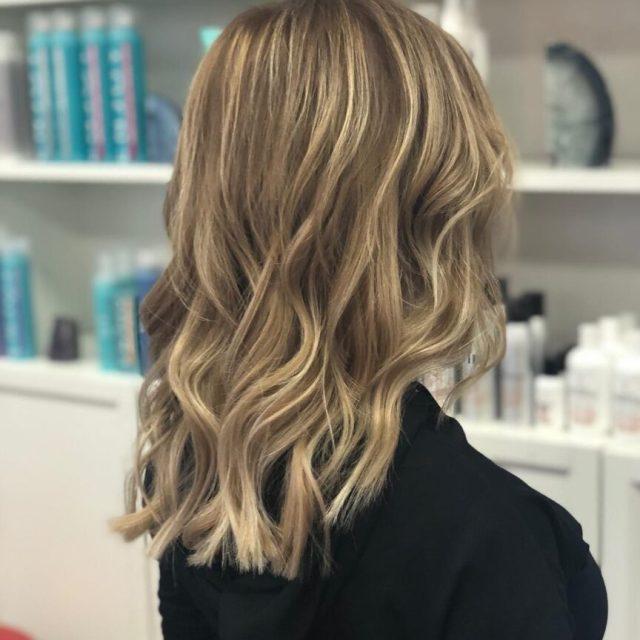 full highlights las vegas blonde hair