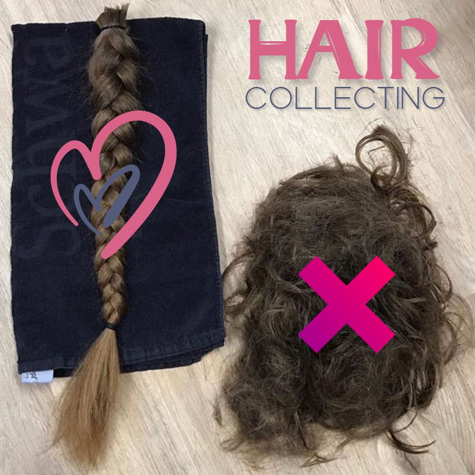 the best way to collect quality hair extensions